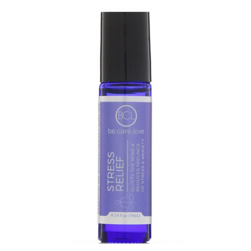 BCL, Be Care Love, Essential Oil Aromatherapy Roll-On, Stress Relief, 0.34 fl oz (10 ml) Review