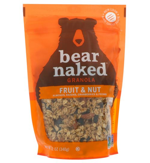 Bear Naked, 100% Pure & Natural Granola, Fruit and Nut, 12 oz (340 g) Review