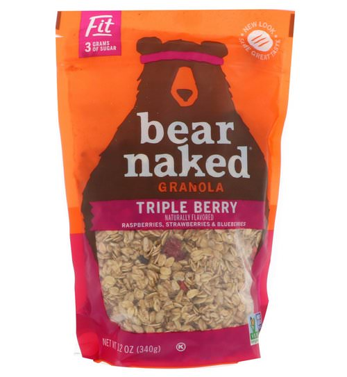 Bear Naked, Fit, Granola, Triple Berry, 12 oz (340 g) Review