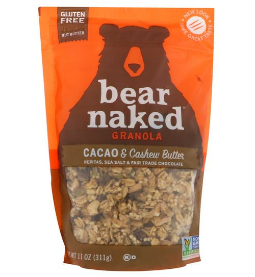 Bear Naked, Granola, Cacao & Cashew Butter, 11 oz (311 g) Review