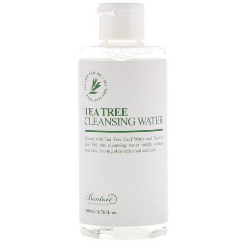 Benton, Tea Tree Cleansing Water, 6.76 fl oz (200 ml) Review