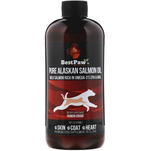 Best Paw Nutrition, Pure Alaskan Salmon Oil, 16 fl oz (472 ml) Review