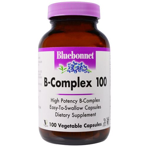 Bluebonnet Nutrition, B-Complex 100, 100 Veggie Caps Review