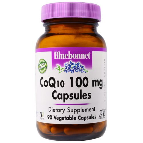 Bluebonnet Nutrition, CoQ10, 100 mg, 90 Veggie Caps Review