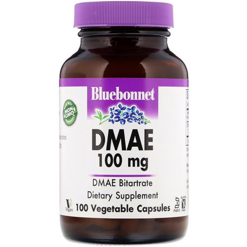 Bluebonnet Nutrition, DMAE, 100 mg, 100 Vegetable Capsules Review
