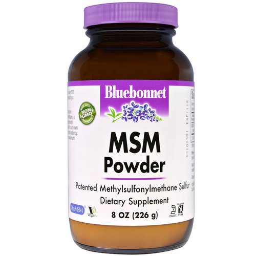 Bluebonnet Nutrition, MSM Powder, 8 oz (226 g) Review
