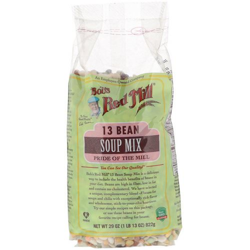 Bob's Red Mill, 13 Bean Soup Mix, 29 oz (822 g) Review