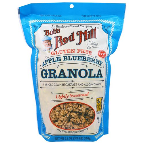 Bob's Red Mill, Apple Blueberry Granola, Gluten Free, 12 oz (340 g) Review