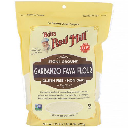 Bob's Red Mill, Garbanzo Fava Flour, 22 oz (624 g) Review