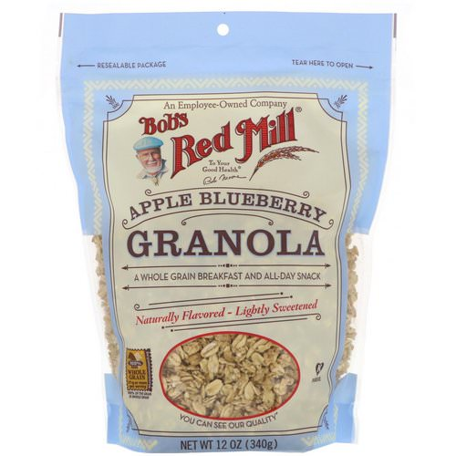 Bob's Red Mill, Granola, Apple Blueberry, 12 oz (340 g) Review