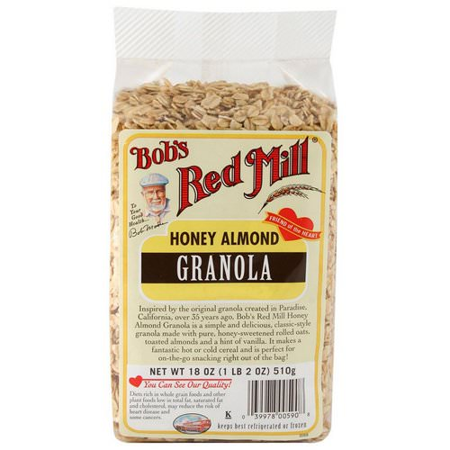 Bob's Red Mill, Honey Almond Granola, 18 oz (510 g) Review