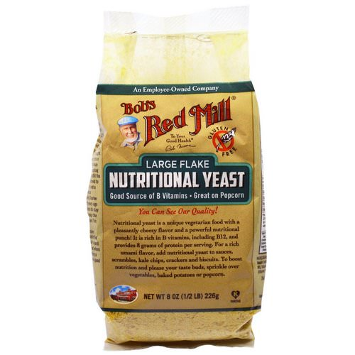 Bob's Red Mill, Large Flake Nutritional Food Yeast, 8 oz (226 g) Review