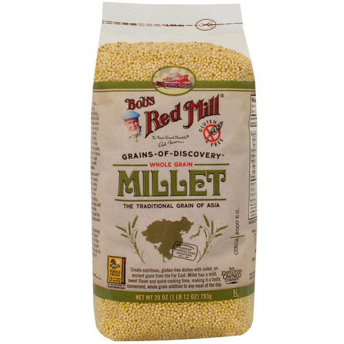 Bob's Red Mill, Millet, Whole Grain, 28 oz (793 g) Review