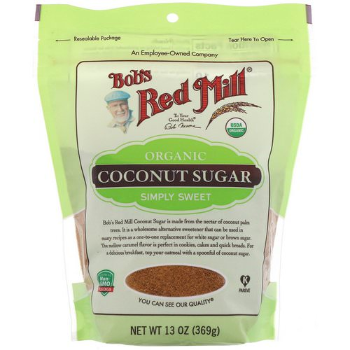 Bob's Red Mill, Organic Coconut Sugar, 13 oz (369 g) Review