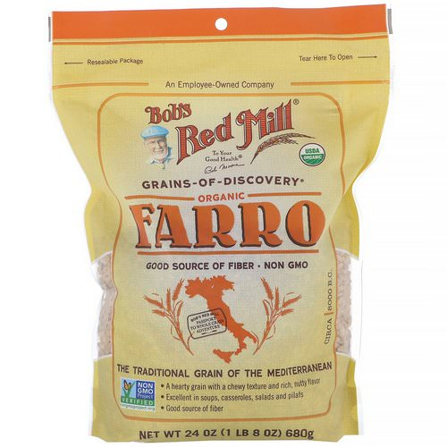 Bob's Red Mill, Organic Farro, 24 oz (680 g) Review