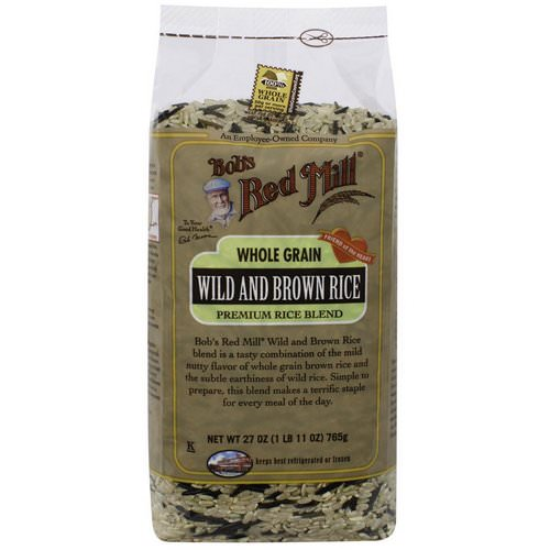 Bob's Red Mill, Wild and Brown Rice, 1.7 lbs (765 g) Review