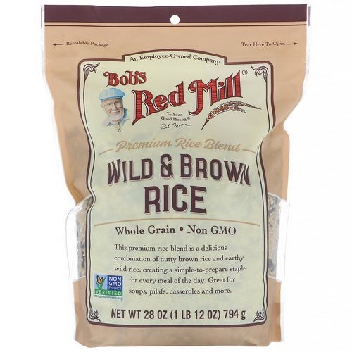 Bob's Red Mill, Wild & Brown Rice, 28 oz (794 g) Review