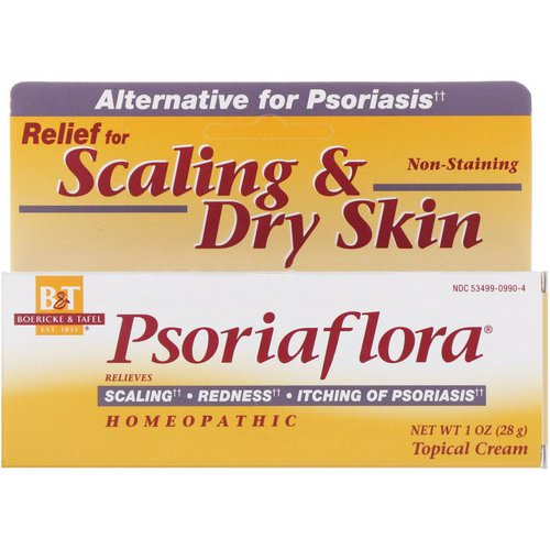 Boericke & Tafel, Psoriaflora, Topical Cream, 1 oz (28 g) Review