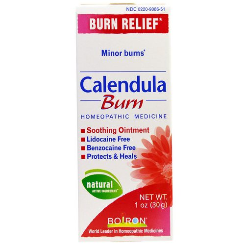 Boiron, Calendula, Burn, Soothing Ointment, 1 oz (30 g) Review