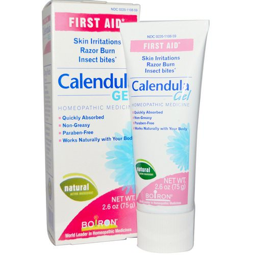 Boiron, Calendula Gel, First Aid, 2.6 oz (75 g) Review