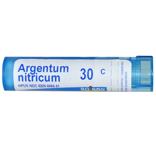 Boiron, Single Remedies, Argentum Nitricum, 30C, Approx 80 Pellets Review