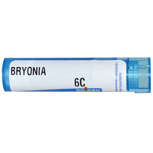 Boiron, Single Remedies, Bryonia, 6C, Approx 80 Pellets Review