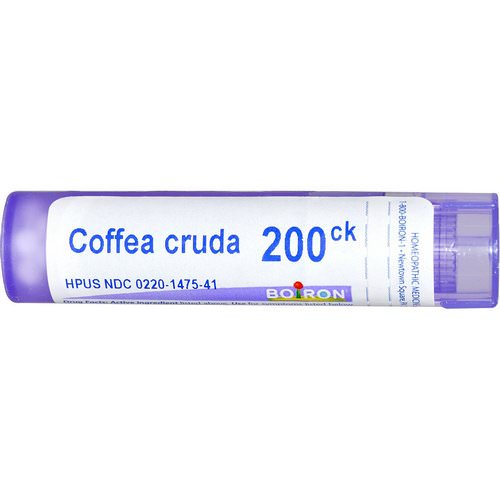 Boiron, Single Remedies, Coffea Cruda, 200CK, Approx 80 Pellets Review