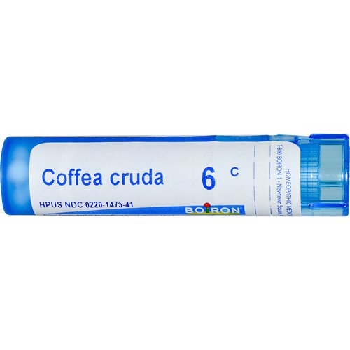 Boiron, Single Remedies, Coffea Cruda, 6C, Approx 80 Pellets Review
