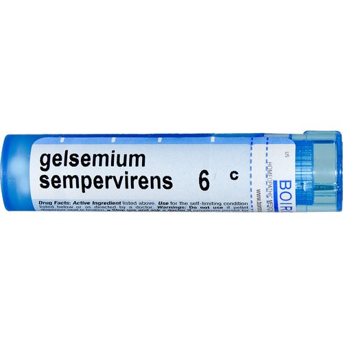 Boiron, Single Remedies, Gelsemium Sempervirens, 6C, Approx 80 Pellets Review