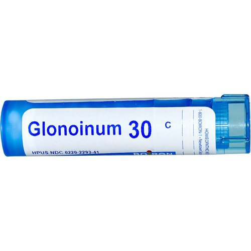 Boiron, Single Remedies, Glonoinum, 30C, Approx 80 Pellets Review