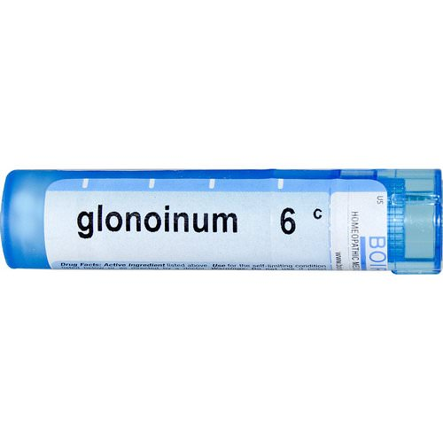 Boiron, Single Remedies, Glonoinum, 6C, Approx 80 Pellets Review