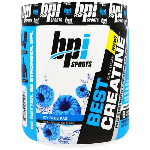 BPI Sports, Best Creatine Pro Strength Creatine Blend, Icy Blue Raz, 10.58 oz (300 g) Review
