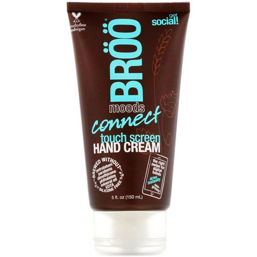 BRoo, Moods, Connect Touch Screen Hand Cream, Jasmine and Lime, 5 fl oz (150 ml) Review