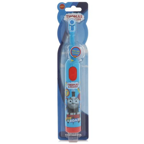 Brush Buddies, Thomas & Friends, Electric Toothbrush, Soft, 1 Toothbrush Review