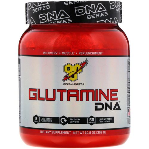 BSN, DNA Series, Glutamine DNA, Unflavored, 10.9 oz (309 g) Review