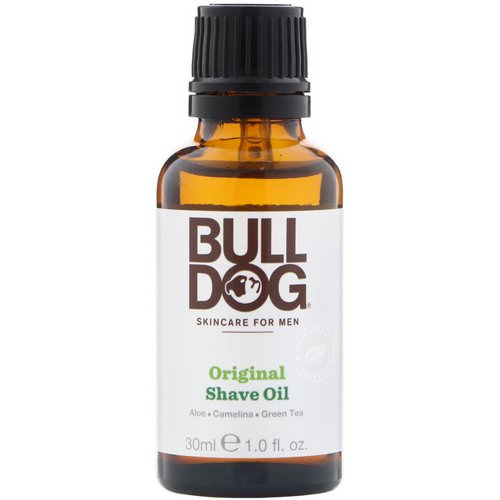 Bulldog Skincare For Men, Original Shave Oil, 1 fl oz (30 ml) Review