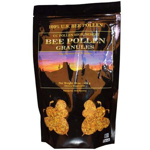 C.C. Pollen, High Desert, Bee Pollen Granules, 16 oz (454 g) Review