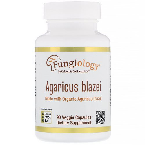California Gold Nutrition, Agaricus Blazei, Full Spectrum, Organic Certified, 90 Veggie Capsules Review