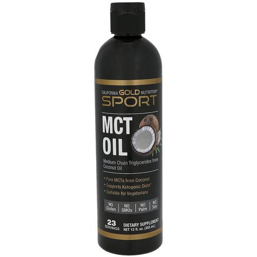 California Gold Nutrition, MCT Oil, 12 fl oz (355 ml) Review
