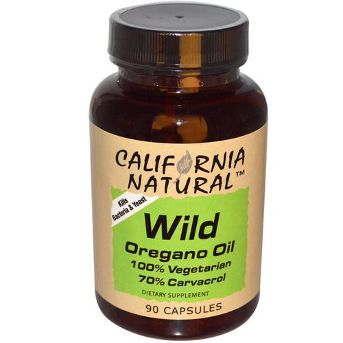 California Natural, Wild Oregano Oil, 90 Capsules Review