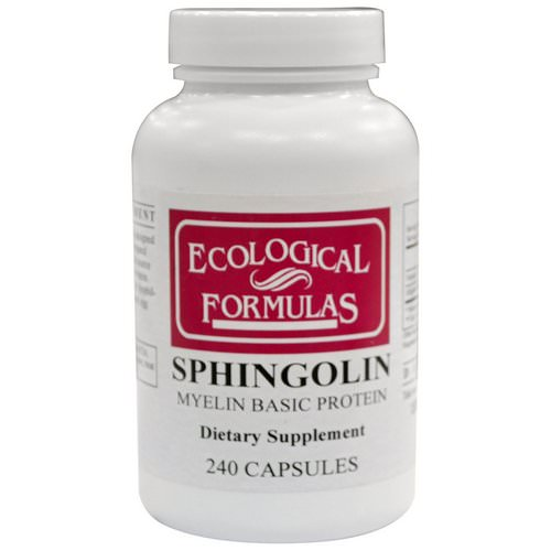 Cardiovascular Research, Sphingolin, Myelin Basic Protein, 240 Capsules Review