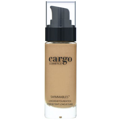 Cargo, Swimmables, Longwear Foundation, 50, 1 fl oz (30 ml) Review