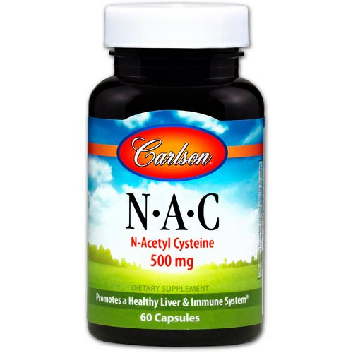 Carlson Labs, N-A-C, 500 mg, 60 Capsules Review