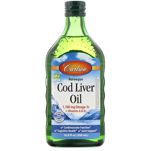 Carlson Labs, Norwegian Cod Liver Oil, 16.9 fl oz (500 ml) Review