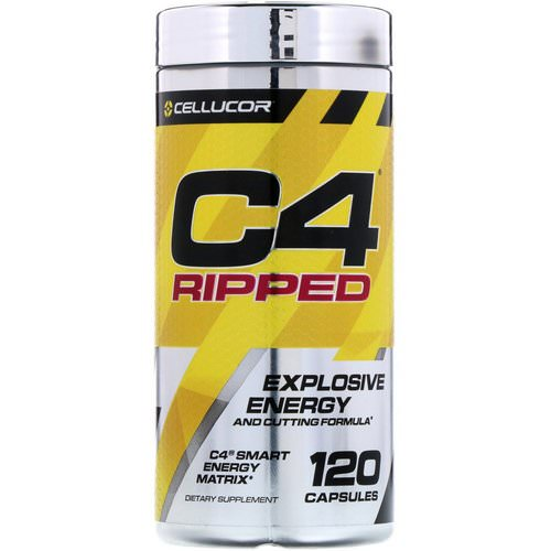 Cellucor, C4 Ripped, Explosive Energy, 120 Capsules Review