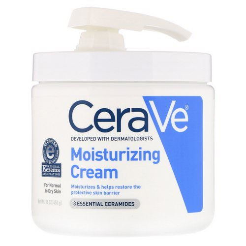 CeraVe, Moisturizing Cream with Pump, 16 oz (453 g) Review