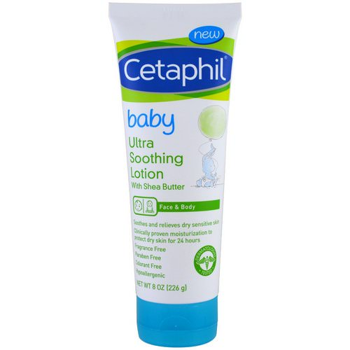 Cetaphil, Baby, Ultra Soothing Lotion With Shea Butter, 8 oz (226 g) Review