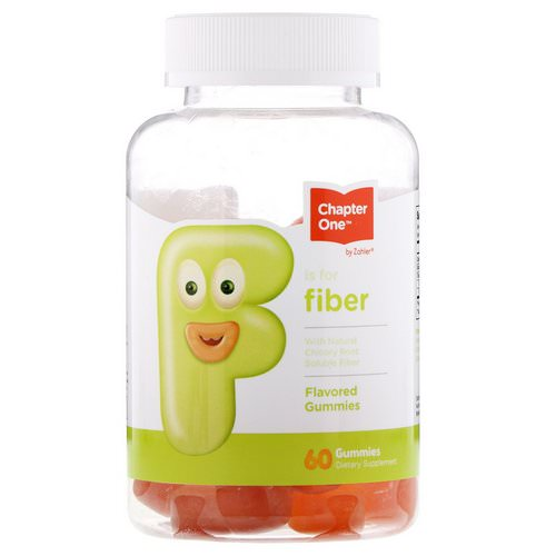 Chapter One, F Is For Fiber, Flavored Gummies, 60 Gummies Review