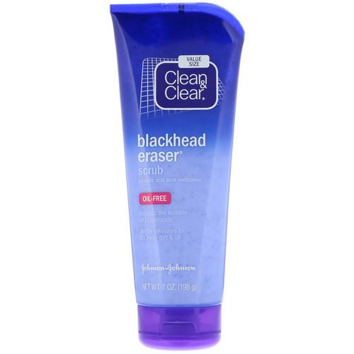 Clean & Clear, Blackhead Eraser Scrub, 7 oz (198 g) Review