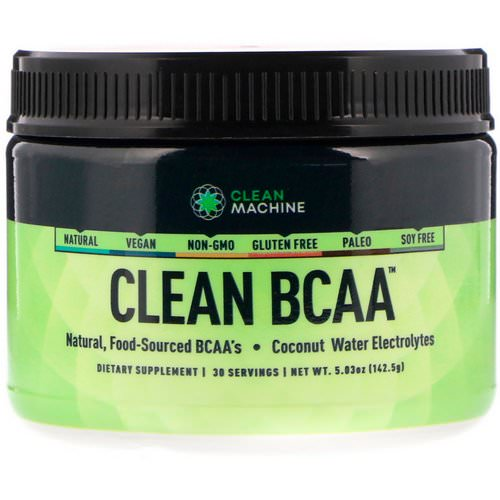 CLEAN MACHINE, Clean BCAA, 5.03 oz (142.5 g) Review
